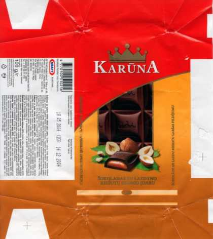 Candy Wrappers - Kraft Jacobs Suchard Lietuva