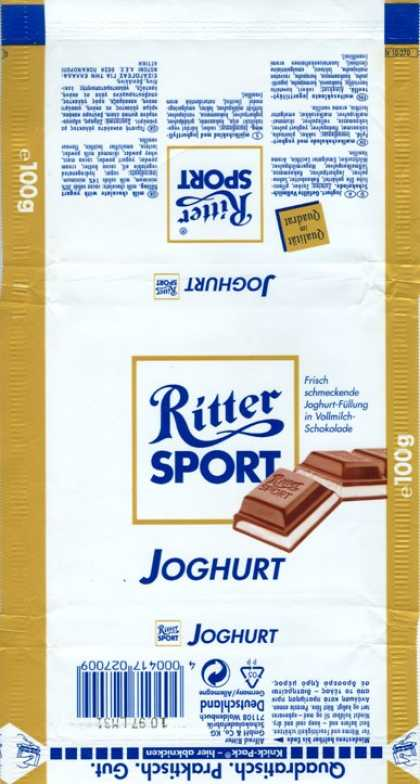 Candy Wrappers - Ritter