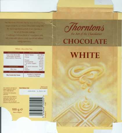 Candy Wrappers - Thorntons