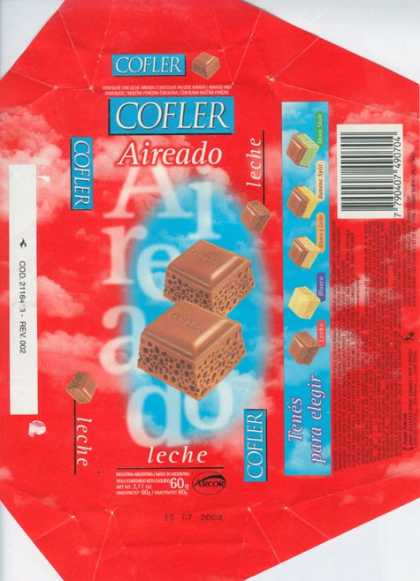 Candy Wrappers - Arcor