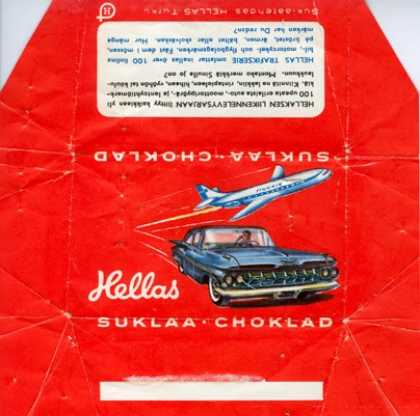 Candy Wrappers - Hellas