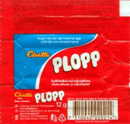 Candy Wrappers - Cloetta