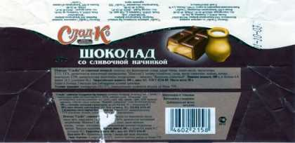 Candy Wrappers - Volzhanka