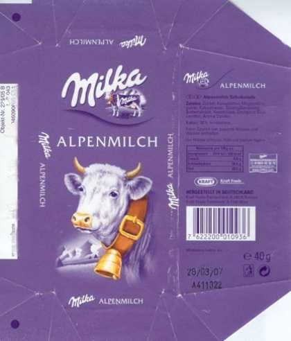 Candy Wrappers - Milka
