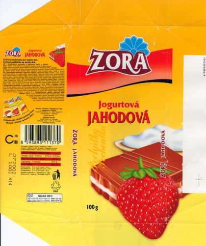 Candy Wrappers - Nestle Zora
