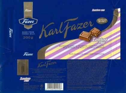 Candy Wrappers - Fazer