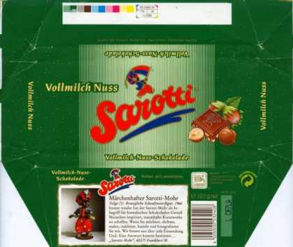 Candy Wrappers - Sarotti