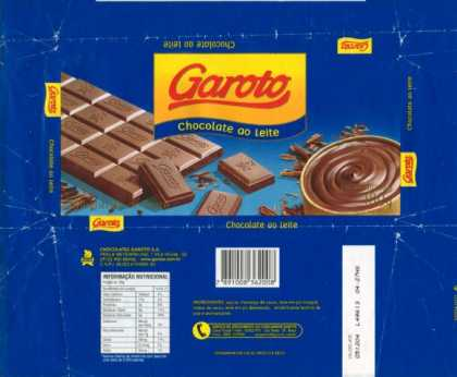 Candy Wrappers - Garoto