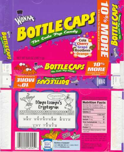 Candy Wrappers 2517