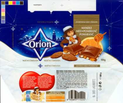 Candy Wrappers - Nestle Orion