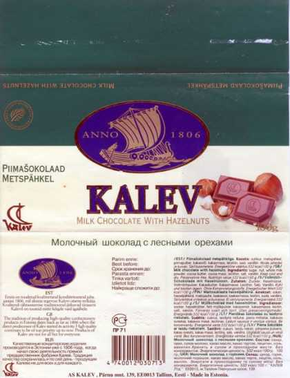 Candy Wrappers - Kalev