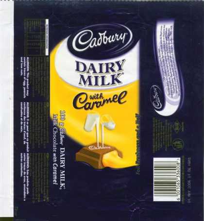 Candy Wrappers - Cadbury South Africa