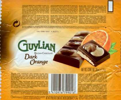 Candy Wrappers - Guylian