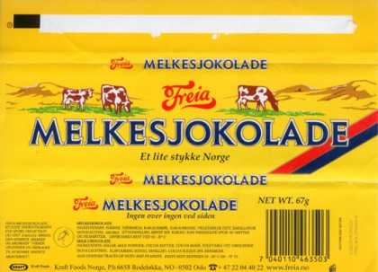 Candy Wrappers - Kraft Foods Norge