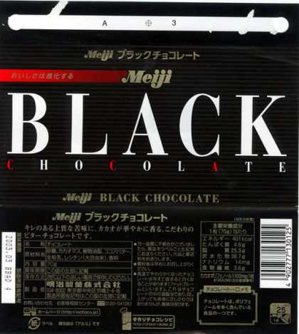 Candy Wrappers - Meiji