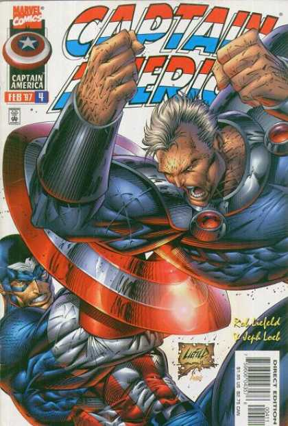 Captain America (1996) 4 - Good Guy - Evil - Red - White - Blue - Rob Liefeld