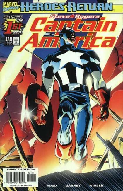 Captain America (1998) 1 - Ron Garney