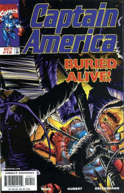 Captain America (1998) 10 - Andy Kubert