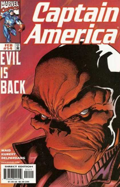 Captain America (1998) 14 - February - Marvel - Evil Is Back - Waid - Kubert - Andy Kubert