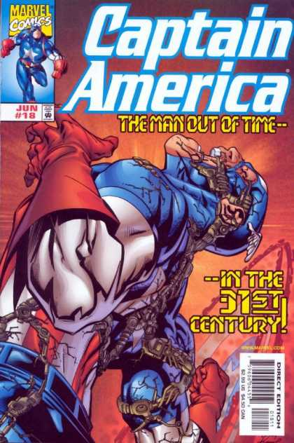 Captain America (1998) 18 - Pain - Captain America - Stud - Gestalt - Robotics - Andy Kubert