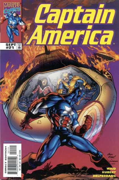 Captain America (1998) 21 - Andy Kubert