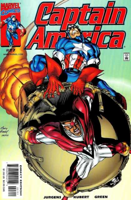 Captain America (1998) 27 - Andy Kubert