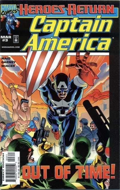 Captain America (1998) 3 - Ron Garney