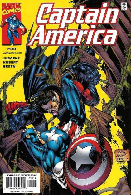 Captain America (1998) 30 - Marvel Comics - Modern Age - Jurgens - Kubert - Superheros - Andy Kubert