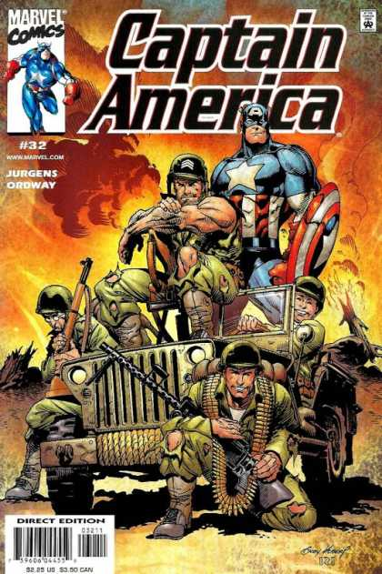 Captain America (1998) 32 - Andy Kubert
