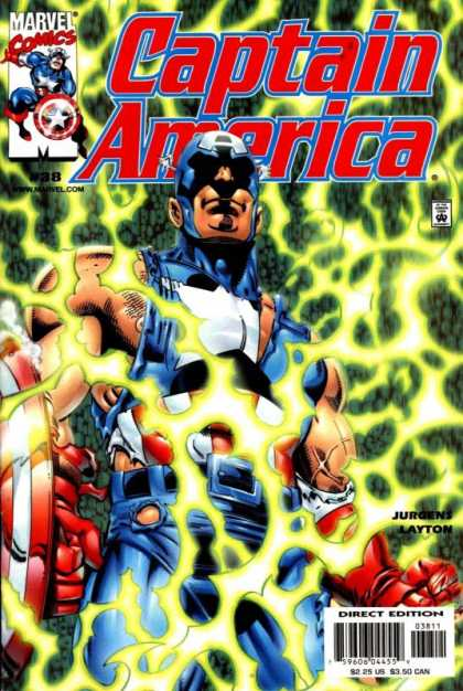 Captain America (1998) 38 - Marvel Comics - Shield - Jurgens - Superhero - Layton - Dan Jurgens