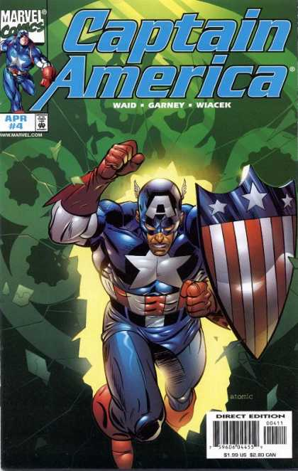 Captain America (1998) 4 - Marvel - Waid - Garney - Wiacek - Approved By The Comics Code Authority - Ron Garney