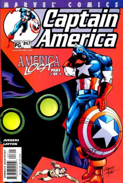 Captain America (1998) 47 - Sad - Shield - Part 3 Of 4 - Yellow Eyes - Lost - Dan Jurgens