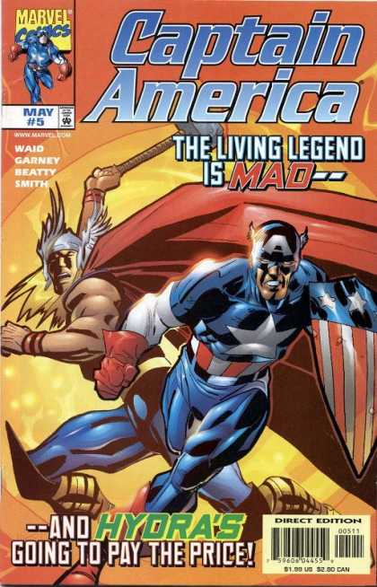 Captain America (1998) 5 - Marvel - Waid - Garney - Beatty - Smith - Ron Garney