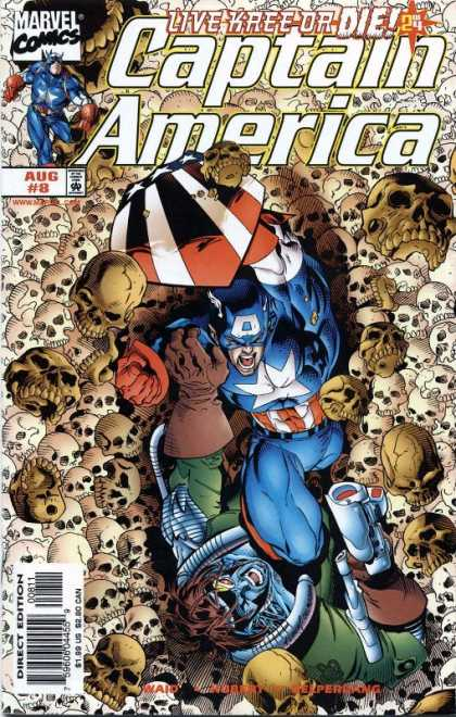 Captain America (1998) 8 - Andy Kubert