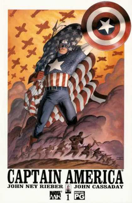 Captain America (2002) 1 - John Cassaday