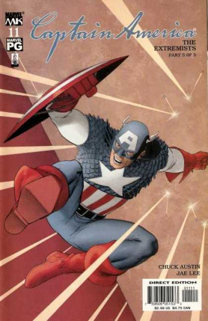 Captain America (2002) 11 - John Cassaday