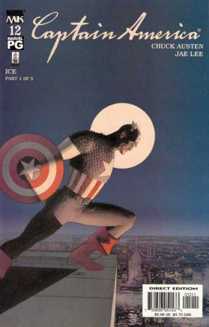 Captain America (2002) 12 - John Cassaday