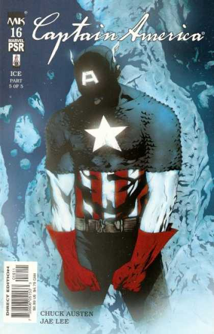 Captain America (2002) 16 - Marvel Psr - Dark Moody - Classic Character - Star - Stripes - Jae Lee