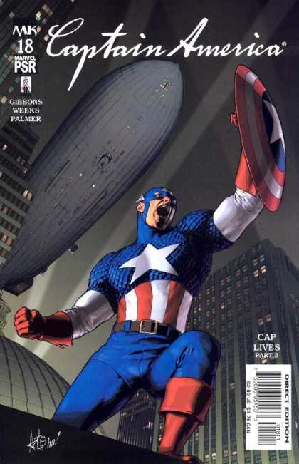 Captain America (2002) 18 - Gene Ha