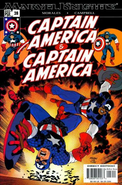 Captain America (2002) 28 - Twins - Morales - Campbell - Explosion - Blast