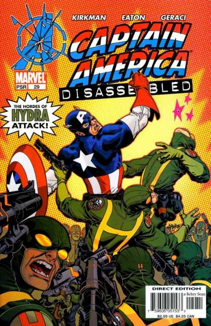 Captain America (2002) 29 - Kirkman - Eaton - Geraci - Soldiers - Costumes