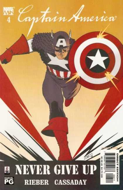 Captain America (2002) 4 - John Cassaday