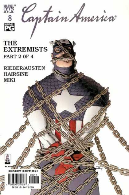 Captain America (2002) 8 - The Extremists Part 2 Of 4 - Rieber - Austen - Hairsine - Miki - John Cassaday