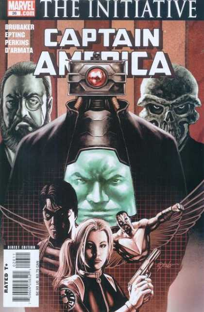 Captain America (2004) 26 - Brubaker - Perkins - Darmata - Initiative - Skull