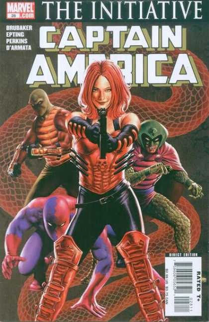 Captain America (2004) 28 - The Initiative - Brubaker - Epting - Perkins - Darmata