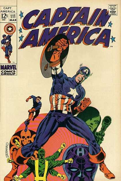 Captain America 111 - Jim Steranko