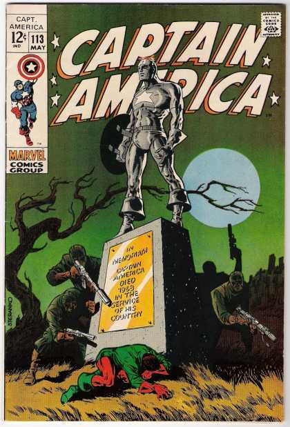 Captain America 113 - Jim Steranko