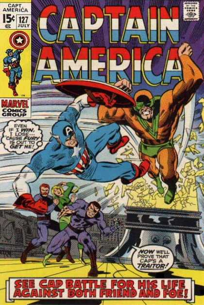 Captain America 127 - Battle - Life - Friend - Foe - Fury