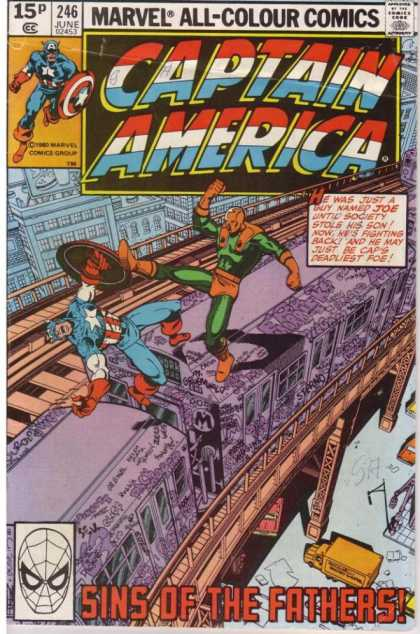 Captain America 246 - George Perez