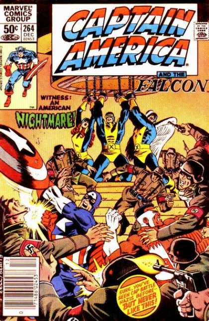 Captain America 264 - Nightmare - Falcon - Captain - America - Marvel